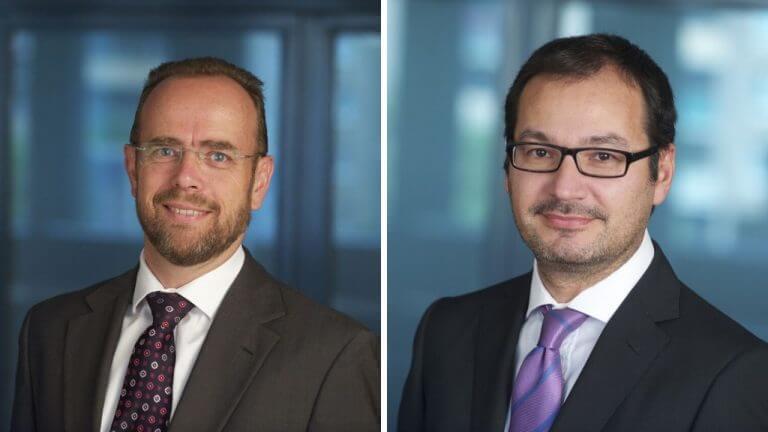 Martin Bruckner, Chief Investment Officer der Allianz Gruppe in Österreich und Christian Ramberger, Geschäftsführer der Allianz Invest KAG