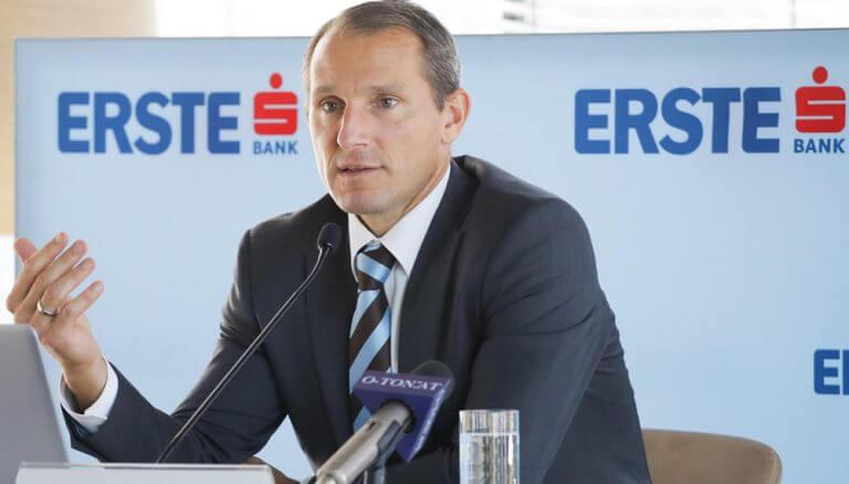 """Stefan Dörfler, CEO der Erste Bank Oesterreich: """"Mit den steigenden Nutzerzahlen sind auch die Anforderungen und Ansprüche der Geschäftskunden an die Bankingplattformen gestiegen."""""""