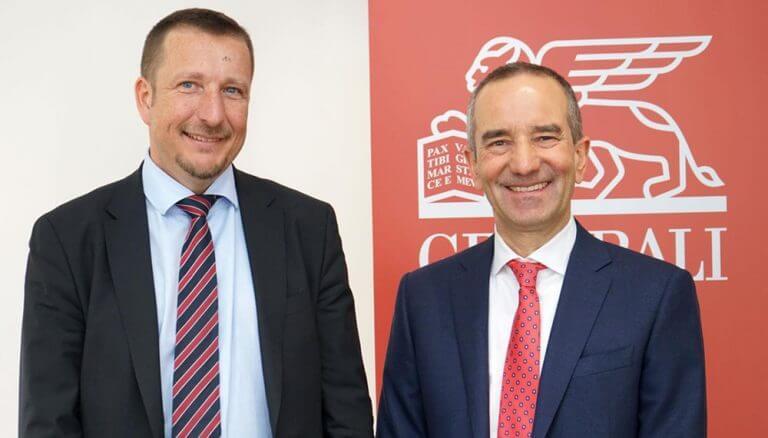 Stabübergabe im Vorstand der Generali Versicherung: Gregor Pilgram übernimmt ab 1. Mai 2020 den Vorstandsvorsitz von Alfred Leu.