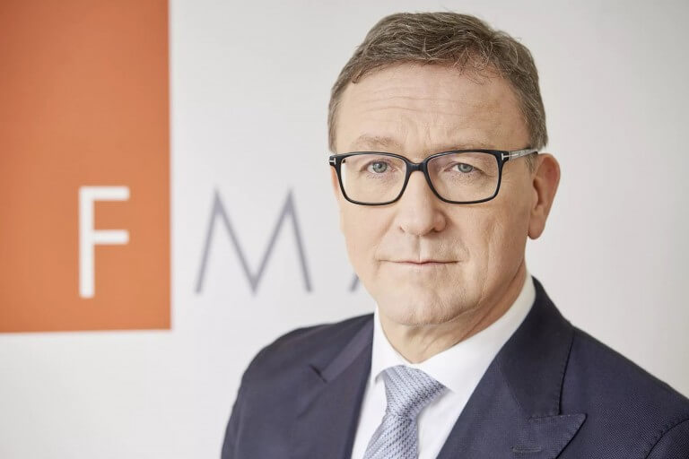 Helmut Ettl, Vorstand der FMA
