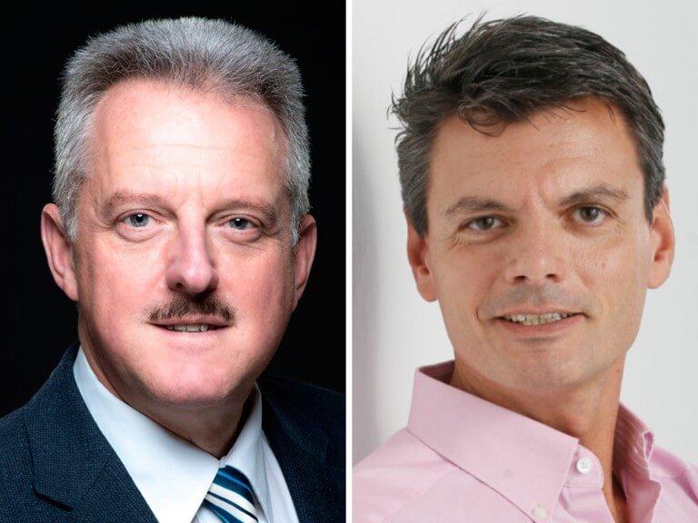 FMVÖ-Präsident Erich Mayer und FMVÖ-Vorstandsmitglied Werner Schediwy