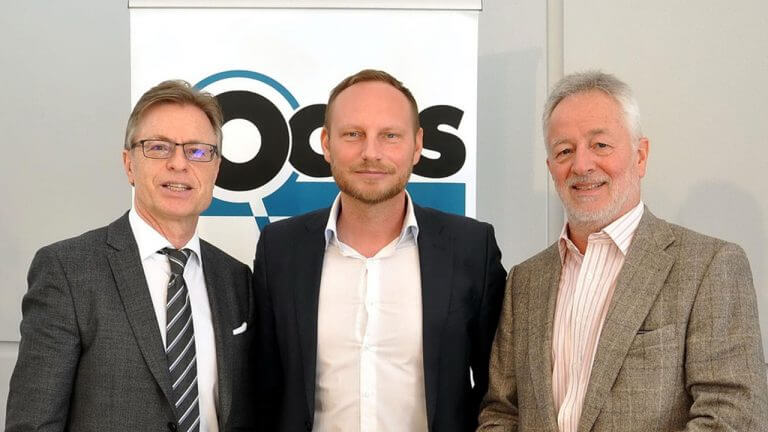 Auf der Suche nach dem Marcel-Hirscher-Nachfolger: Raiffeisen-Marketingmanager Dr. Leodegar Pruschak, Focus-Manager Marcel Grell & Klaus Fessel.