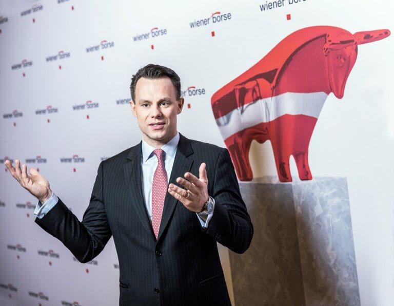 Wiener Börse-Vorstand CEO Christoph Boschan.