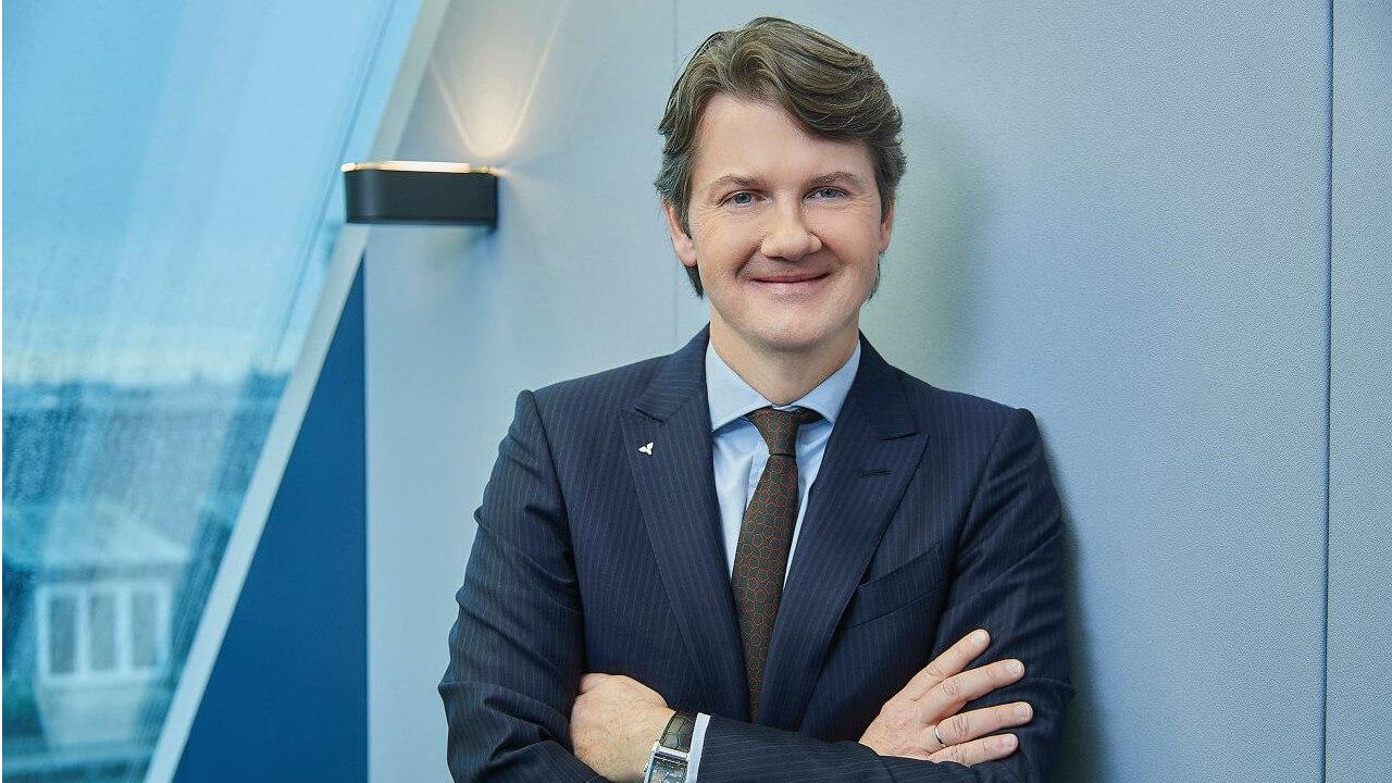 Gerald Fleischmann, Generaldirektor der Volksbank Wien.