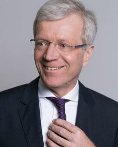 Dr. Gerhard Fabisch, Präsident des Sparkassenverbandes