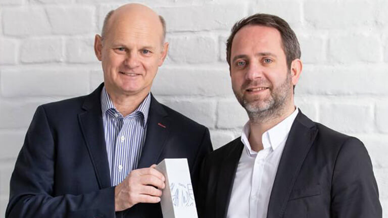 AMC-Präsident Georg Wiedenhofer und Mag. (FH) Niko Pabst, Österreichischer Marketing-Club.