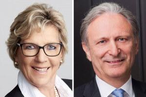 ForumF-Herausgeber Dagmar Lang und Peter Neubauer