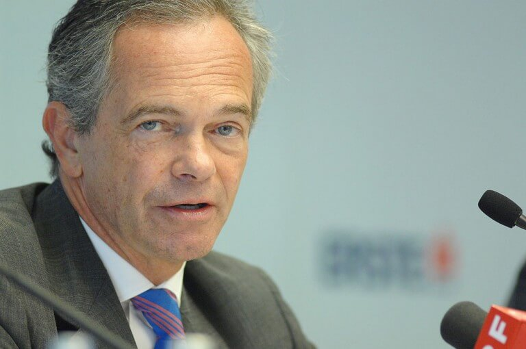 Erste Group CEO Andreas Treichl
