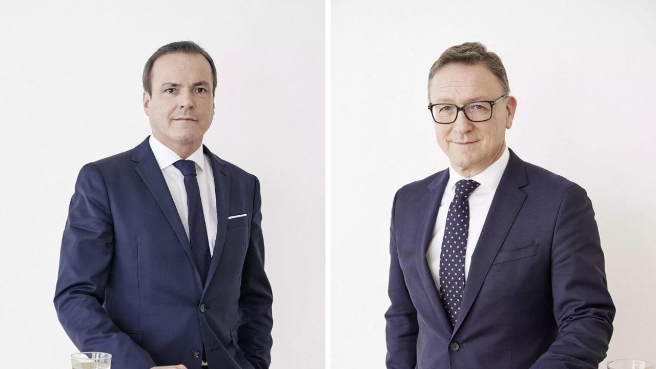 Eduard Müller und Helmut Ettl, FMA-Vorstände