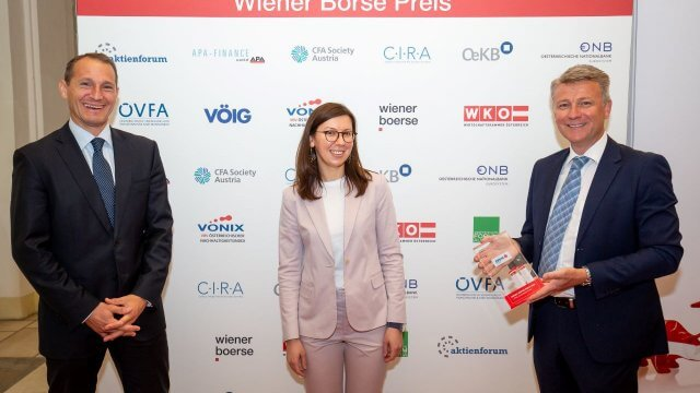 Stefan Dörfler (Erste Group Bank), Carmen Staicu (Erste Group Bank), Wolfgang Nedomansky (APA-Finance)