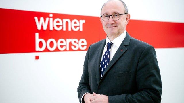 Ludwig Nießen, scheidender Chief Technology und Operating Officer der Wiener Börse