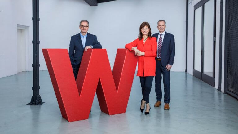 Wüstenrot Vorstand: Andreas Grünbichler, Susanne Riess und Gerald Hasler