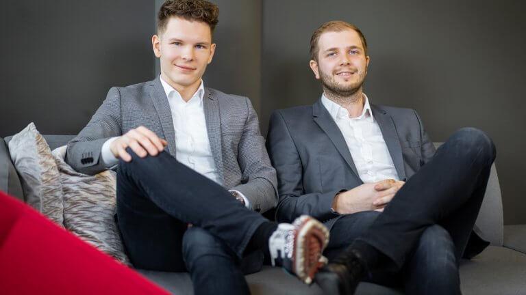 Die zwei ROCKETS Gründer und Geschäftsführer: Wolfgang Deutschmann (links) und Peter Garber-Schmidt (rechts)