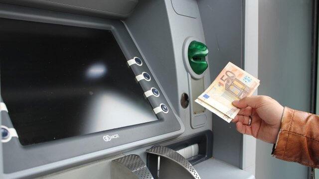 Geldautomat Bankomat ATM
