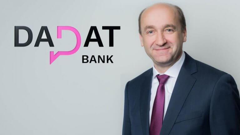 Ernst Huber, CEO DADAT Bank