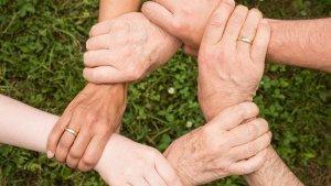 Hilfe Gemeinsam Hände