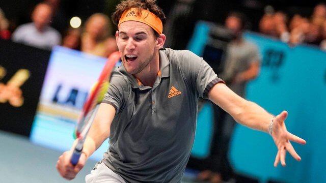 Dominic ThiemDominic Thiem beim Finale beim Erste Bank Open 2019 in der Erste Bank Wiener Stadthalle.