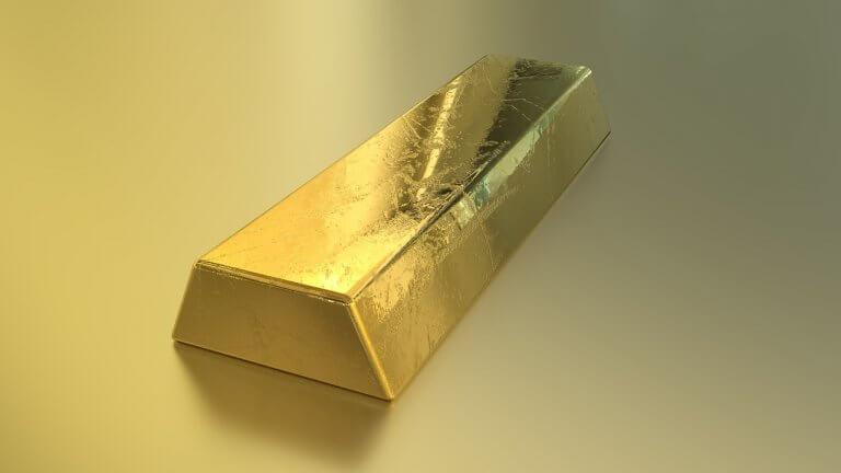 Gold Barren Unze