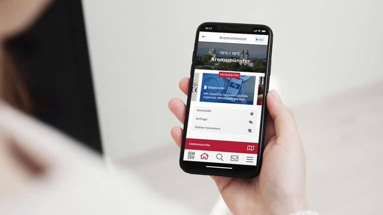 Bluecode forciert berührungsloses mobiles Bezahlen mittels Gem2Go-App