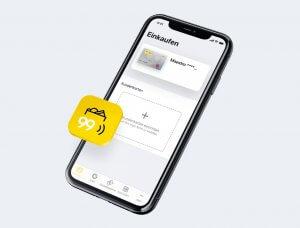brieftasche99: Die Geldbörse am Smartphone der bank99