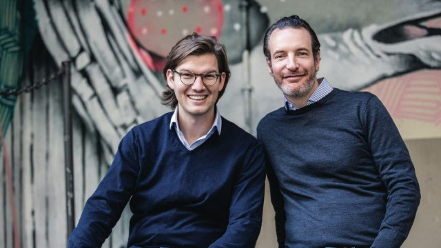 N26-Gründer Valentin Stalf und Maximilian Tayenthal