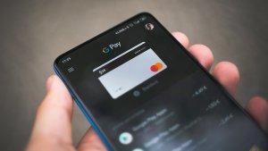 Google Pay mit einer hinterlegten Kreditkarte von N26.