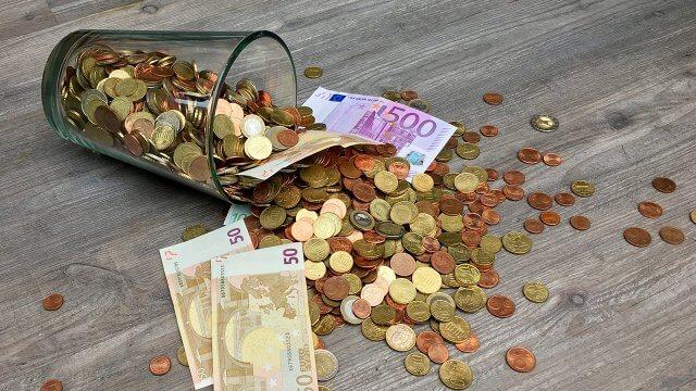 Notgroschen Geld Sparen