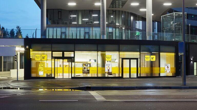 Filiale der Österreichischen Post mit bank99