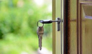 Wohnen Haus Wohnung Wohnbau Schlüssel