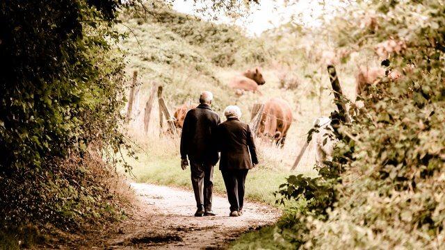 Rentner Senioren Alt