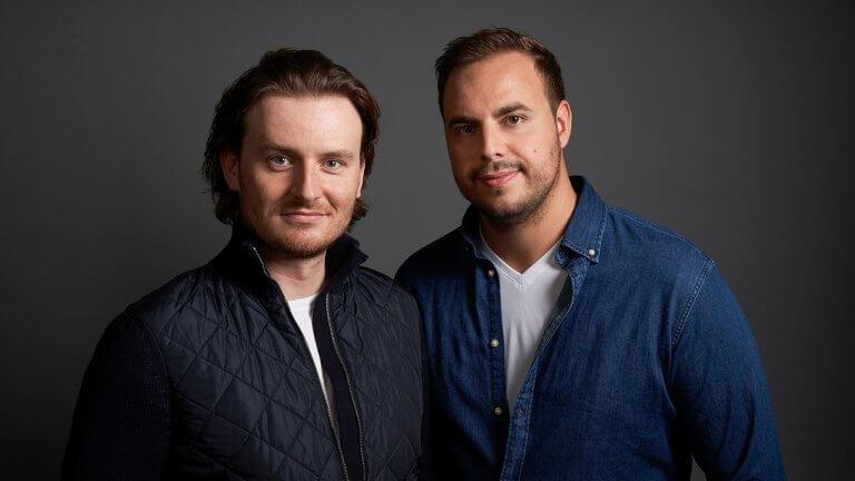Eric Demuth und Paul Klanschek, die beiden Co-Founder und CEOs von Bitpqanda