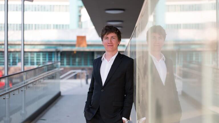 Florian Wimmer, der Gründer und CEO von Blockpit übernimmt mit seinem Start-up den Konkurrenten Cryptotax
