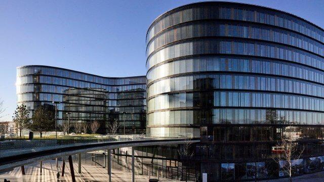 Der Erste Bank Campus beim Hauptbahnhof Wien