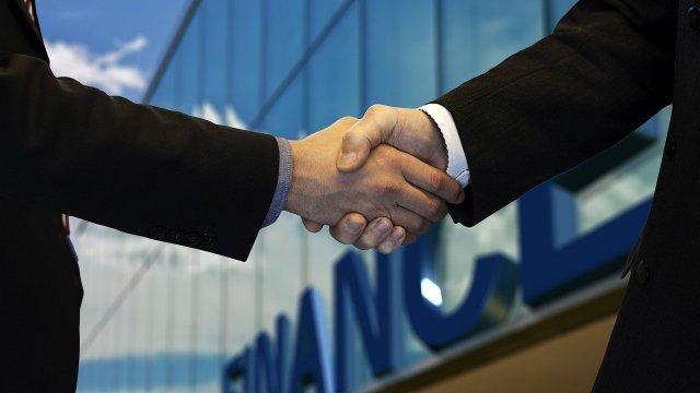 Fusion Geschäft Vertrag