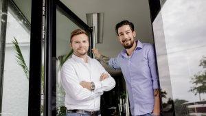Mario Schantl und Martin Höllinger, Die beiden Geschäftsführer und Gründer des Finanz Startups OPTIFIN GmbH