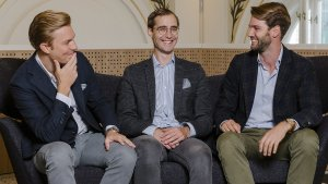 Lukas Müller, Paul Brezina und Tobias Leodolter vom Start-up Rendity