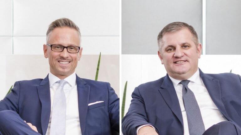 Wiener Privatbank Vorstand Christoph Raninger und Eduard Berger